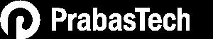 PrabasTech logo White